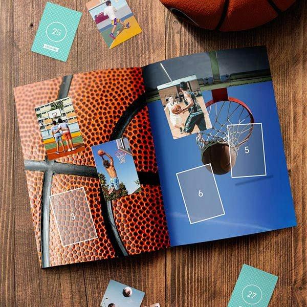 Album Figurine Basket