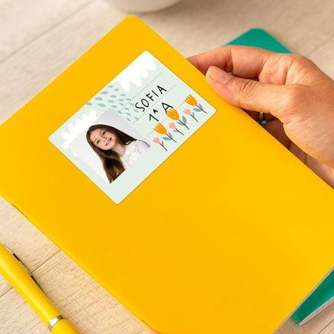 Set Etichette Adesive 18 Etichette Adesive Personalizzate