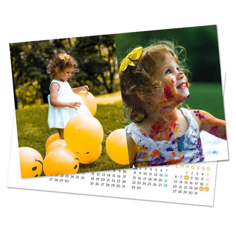 Foto Calendari Tascabili personalizzati
