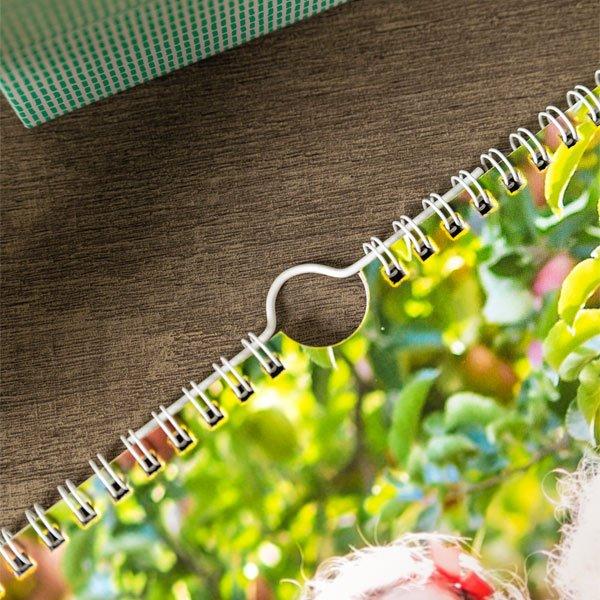 Calendario personalizzato Happy Days Spirale centrale A3