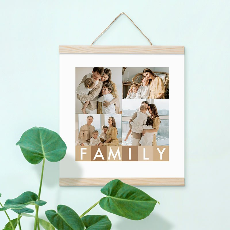 Poster Collage Family 30x30